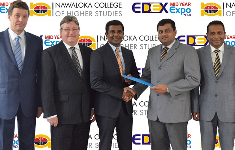 NCHS partnered with the EDEX Mid-Year Expo 2014